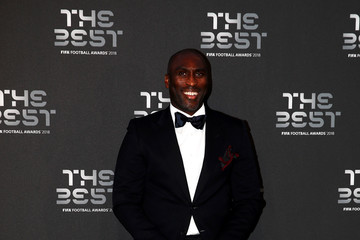 Sol Campbell The Best FIFA Football Awards - Green Carpet Arrivals