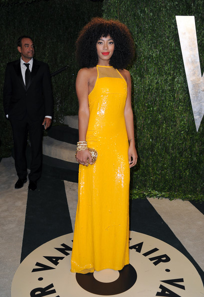 Solange Knowles - 2013 Vanity Fair Oscar Party Hosted By Graydon Carter - Arrivals