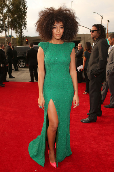 Solange Knowles - The 55th Annual GRAMMY Awards - Red Carpet