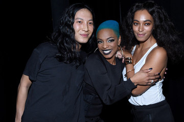 Solange Knowles Backstage at Alexander Wang X H&M Launch