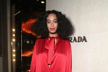 Solange Knowles Prada the Iconoclast Cocktail Party