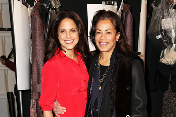 Soledad O'Brien Nanette Lepore - Backstage - Mercedes-Benz Fashion Week Fall 2014