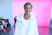 Derek Warburton attends the Son Jung Wan front row during New York Fashion Week: The Shows at Gallery II at Spring Studios on September 07, 2019 in New York City.