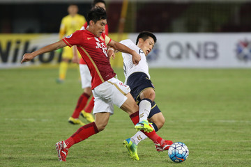 Son Junho AFC Champions League - Guangzhou Evergrande FC v Pohang Steelers