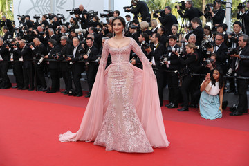 Sonam Kapoor 'The Meyerowitz Stories' Red Carpet Arrivals - The 70th Annual Cannes Film Festival