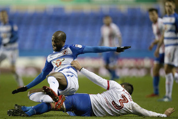 Sone Aluko Reading v Stevenage - The Emirates FA Cup Third Round Replay