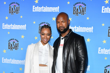 Sonequa Martin-Green Kenric Green Entertainment Weekly Hosts Its Annual Comic-Con Bash - Arrivals