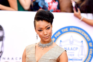 Sonequa Martin-Green 48th NAACP Image Awards - Arrivals