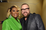 Patti LaBelle and Desmond Child pose backstage during the Songwriters Hall Of Fame 50th Annual Induction And Awards Dinner at The New York Marriott Marquis on June 13, 2019 in New York City.