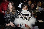Alma Jodorowsky and Selah Marley attend the Sonia Rykiel show as part of the Paris Fashion Week Womenswear Fall/Winter 2018/2019 on March 3, 2018 in Paris, France.