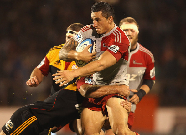 Super Rugby Rd 9 - Chiefs v Crusaders