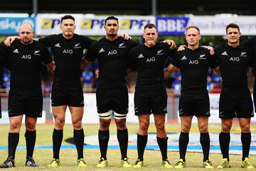 Sonny Bill Williams Samoa v New Zealand