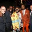 Usher and Mark Pitts Photos