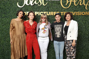 (L-R) Robia Rashid, Bridgette Lundy-Paine, Jennifer Jason Leigh, Keir Gilchrist and Mary Rohlich attend Sony Pictures Television's Emmy FYC Event 2019 'Toast to the Arts' on May 04, 2019 in Los Angeles, California.