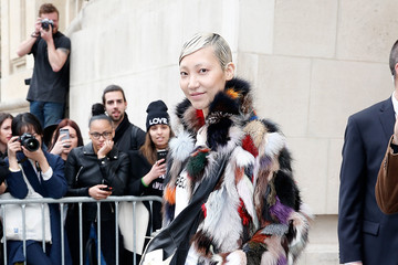 Soo Joo Celebs at the Chanel Runway Show