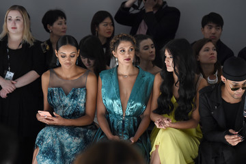 Sophia Dominguez Son Jung Wan - Front Row - September 2017 - New York Fashion Week: The Shows