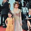 Sophia Laurent Abraham 'J'Accuse' (An Officer And A Spy) Red Carpet Arrivals - The 76th Venice Film Festival