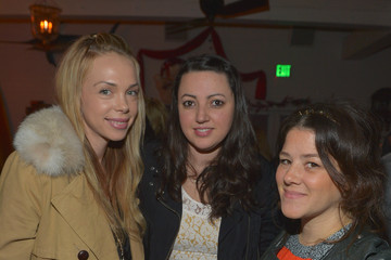Sophia Rossi Tracey Cunningham I Heart Ronson For jcpenney Holiday Party