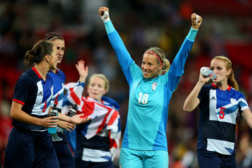 Sophie Bradley Olympics Day 4 - Women's Football - Great Britain v Brazil