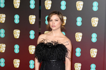 Sophie Cookson EE British Academy Film Awards - Red Carpet Arrivals
