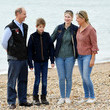 Sophie The Earl And Countess Of Wessex Take Part In A Great British Beach Clean