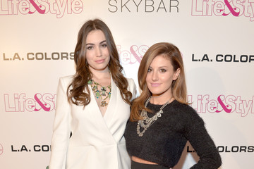 Sophie Simmons Arrivals at Life & Style Weekly's 10-Year Anniversary Party