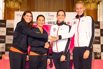 Sorana Cirstea Romania v Great Britain - Fed Cup: World Group II Play Off: Previews