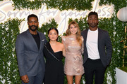 "(L-R) Jovan Adepo, Kelly Marie Tran, Elizabeth Olsen, and Mamoudou Athie attend the ""Sorry For Your Loss"" season 2 premiere event at NeueHouse Los Angeles on October 01, 2019 in Hollywood, California."