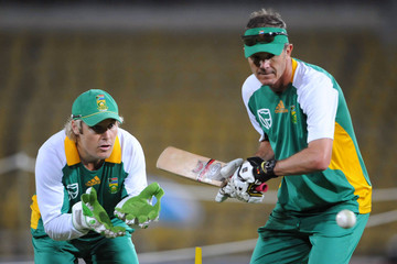Corrie van Zyl South Africa Nets Session - 2011 ICC World Cup