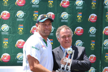 Vincent Sinovich South Africa v India 1st Test - Day 4