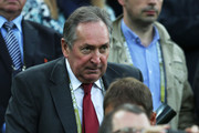 Gerard Houllier  looks on during the UEFA EURO 2012 group C match between Spain and Ireland at The Municipal Stadium on June 14, 2012 in Gdansk, Poland.