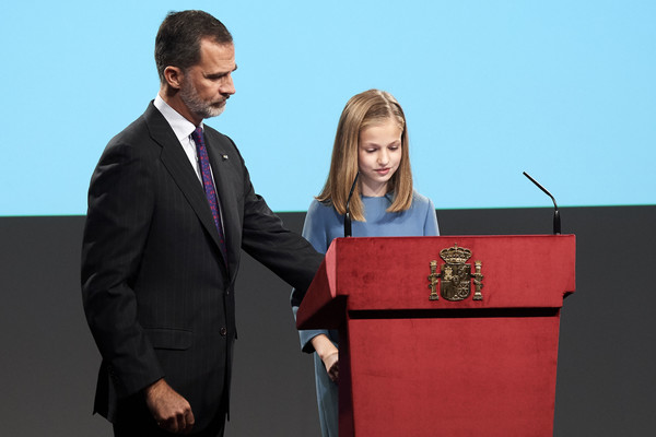 Spanish Royals Attend The Lecture Of The Constitution On Its 40th Anniversary