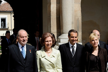 Sonsoles Espinosa Spanish Royals Attend 'Miguel de Cervantes 2009' Award in Madrid
