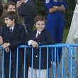 Felipe Juan Froilan Spanish Royals Attend National Day Military Parade 2011