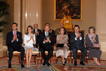 Carlos de Borbon Spanish Royals Host 'Toisones de Oro' Awards