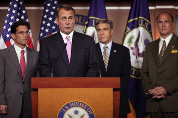 Lou Barletta Speaker Boehner And Majority Leader Cantor Speak On Diaster Relief Funding