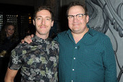 Thomas Middleditch (L) and Andy Richter attend the Special Reception For Focus Features' WON'T YOU BE MY NEIGHBOR? on January 6, 2019 in Los Angeles, California.