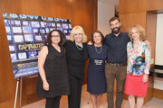 "(L-R) Radio personality Brooke Gladstone, Linda Kenney Baden, ESQ., Linda Wojas, and filmmakers Jeremiah Zagar and Lori Cheatle attend a special screening of the HBO Documentary Film ""Captivated: The Trials Of Pamela Smart"" at the Paley Centeron August 13, 2014 in New York City."