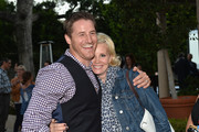 Actors Monica Potter and Sam Jaeger attends a special screening of NBC's 'Parenthood' benefitting Five Acres on September 26, 2013 in San Marino, California.
