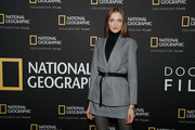 "Vlada Roslyakova attends a Special Screening Of National Geographic's Oscar-Nominated Documentary ""The Cave"" with Film Subject Dr. Amani Ballour at AMC Lincoln Square Theater on February 03, 2020 in New York City."