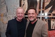 Les Dennis and John Thompson attend special preview screening of Stan & Ollie at Soho Hotel on January 08, 2019 in London, England.