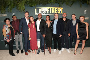 "(L-R) Pam Veasey, Duane Martin, Ryan McPartlin, Jessica Alba, Brandon Sonnier, Gabrielle Union, Brandon Margolis, Anton Cropper, Zach Gilford, and Sophie Reynolds attend Spectrum Originals and Sony Pictures Television Premiere Party for ""L.A.'s Finest"" at Sunset Tower on May 10, 2019 in Los Angeles, California. The series premieres on Monday, May 13."