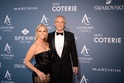 Cheryl Hines and Bobby Kennedy attend the 2018 ACE Awards, announcing the Waterkeeper Alliance Partnership sponsored by Sperry at Cipriani 42nd Street on June 11, 2018 in New York City.