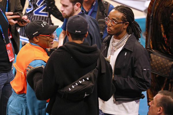 fdc0fb17b Spike Lee Photos Photos - Celebrities Attend The 2019 NBA All-Star ...