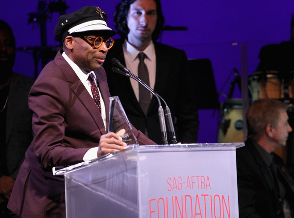 SAG-AFTRA Foundation's 3rd Annual Patron of the Artists Awards [patron of the artists award,event,speech,convention,world,public speaking,job,spokesperson,spike lee,honoree,beverly hills,california,wallis annenberg center for the performing arts,sag-aftra foundations 3rd annual patron of the artists awards]