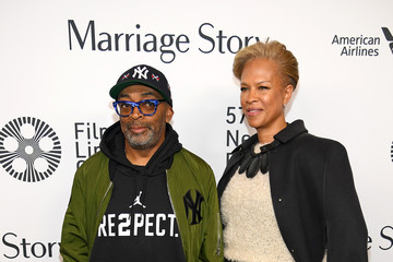 Spike Lee Tonya Lewis Lee 57th New York Film Festival - 'Marriage Story' Arrivals