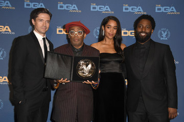 Spike Lee Topher Grace 71st Annual Directors Guild Of America Awards - Press Room
