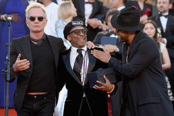 Spike Lee Sting Performs To Close The 71st Annual Cannes Film Festival