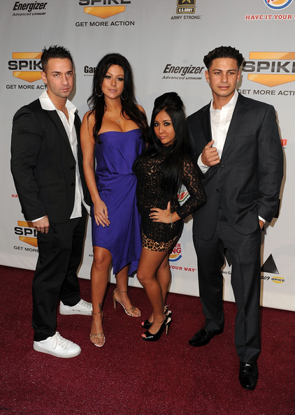 Pauly+DelVecchio in Spike TV's 7th Annual Video Game Awards 2009 - Arrivals
