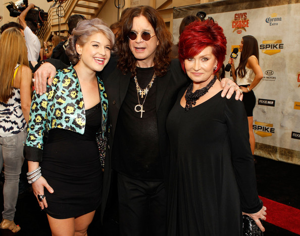 "Kelly Osbourne Musician Kelly Osbourne, musician Ozzy Osbourne and TV personality Sharon Osbourne arrive at Spike TV's 4th Annual ""Guys Choice Awards"" held at Sony Studios on June 5, 2010 in Los Angeles, California."